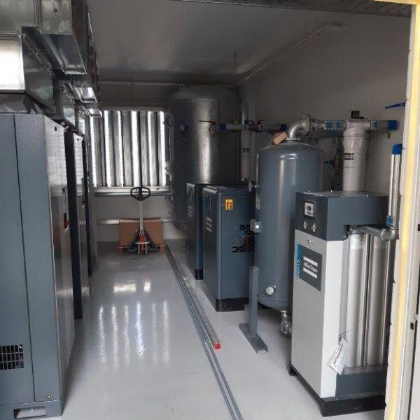 3 St. GA 75 VSD  mit Druckluftaufbereitung