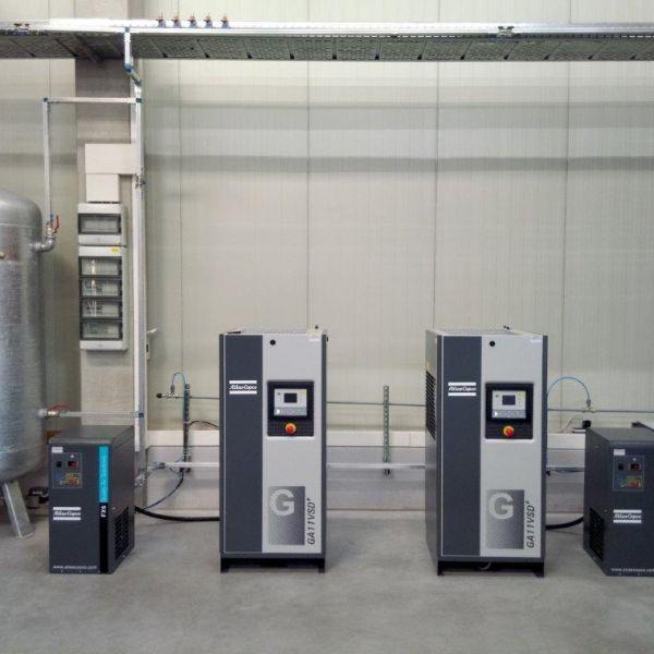 2 St. GA 11 VSD  frequenzgeregelt   Aufbereitung