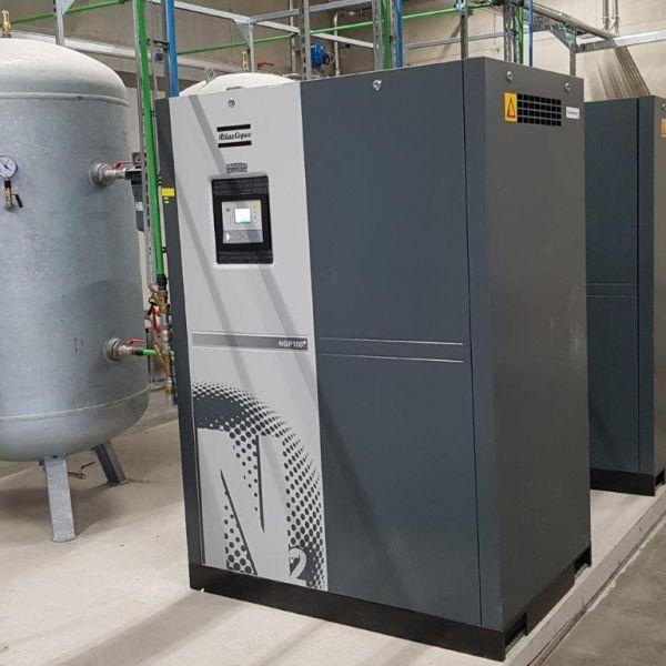 3 St. Stickstofferzeuger Atlas Copco für Stickstoff 99,99%